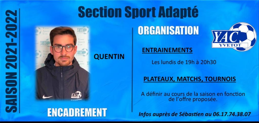 SAISON 2021-2022: SPORT ADAPTE