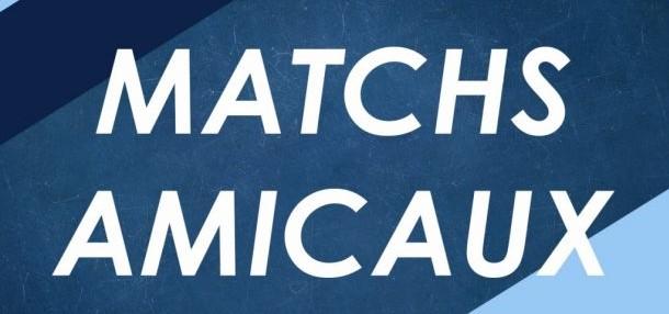 PROGRAMME DES MATCHS AMICAUX DU MOIS DE JUIN 2021